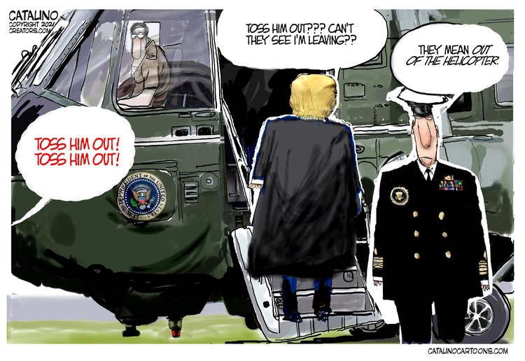 Ken Catalino Comic Strip for January 21, 2021