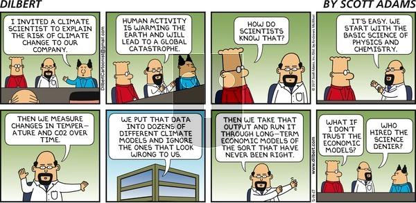Dilbert on Sunday May 14, 2017 Comic Strip