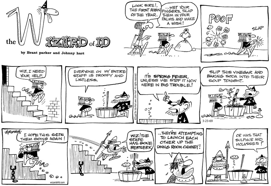 Wizard of Id Classics Comic Strip for March 24, 2019