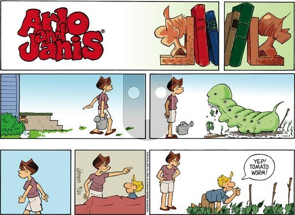 Arlo and Janis on Sunday May 20, 2018 Comic Strip
