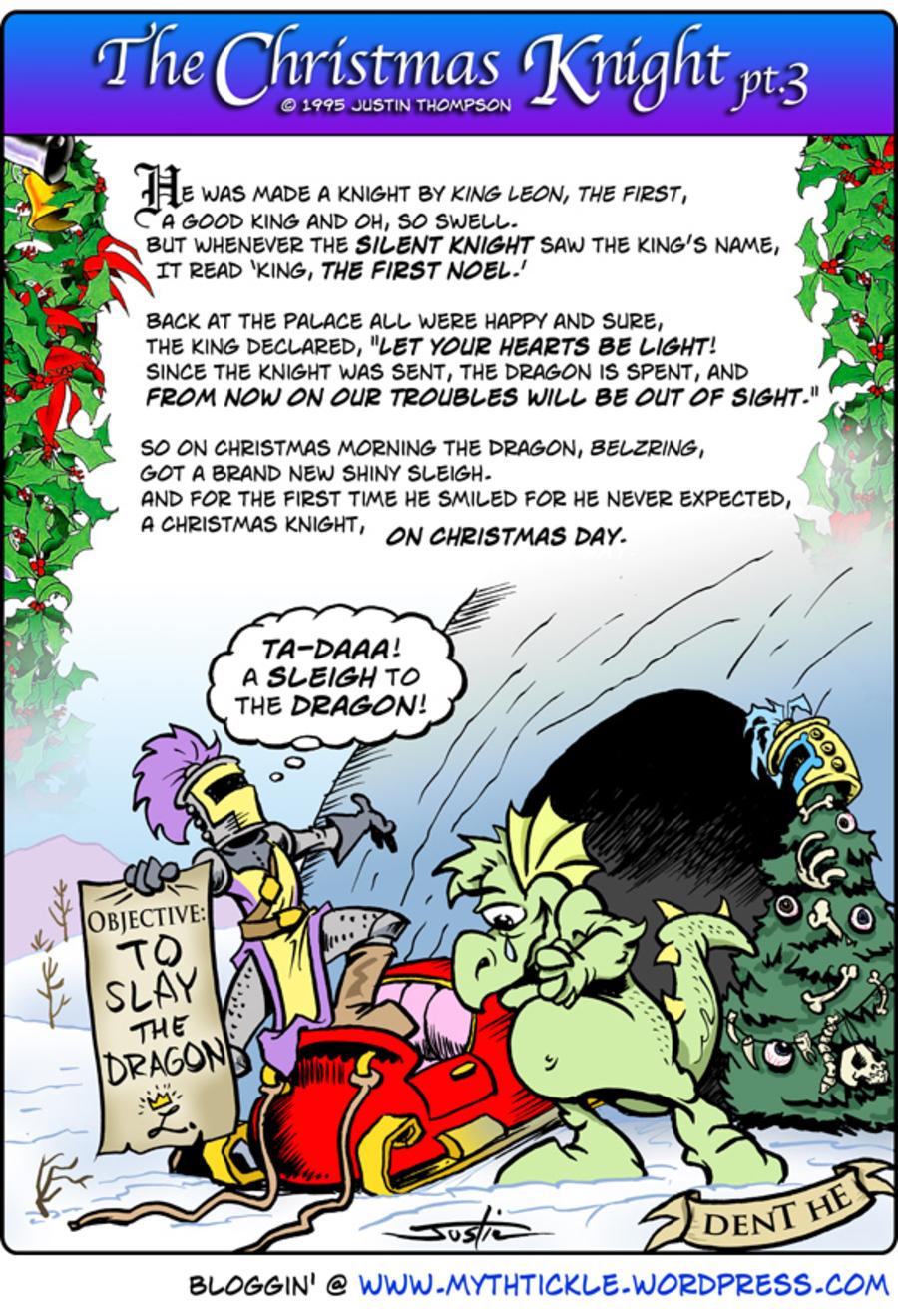 MythTickle for Dec 14, 2012 Comic Strip