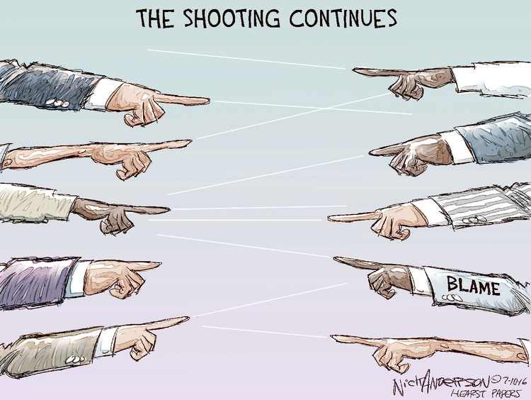 Nick Anderson Comic Strip for July 10, 2016