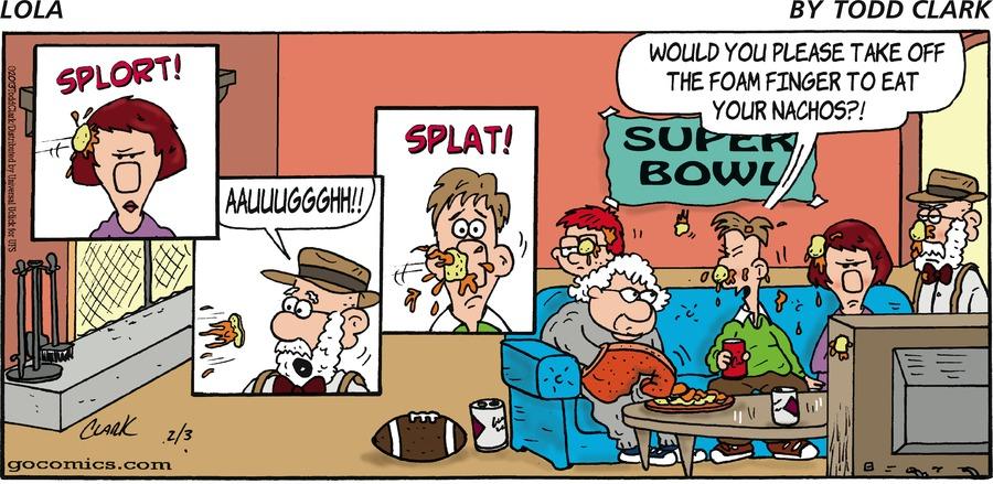Lola for Feb 3, 2013 Comic Strip