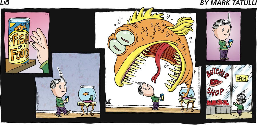 Lio by Mark Tatulli Fish Food Butcher Shop  OPEN