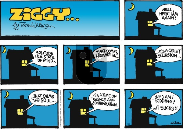 Ziggy on Sunday July 26, 2020 Comic Strip