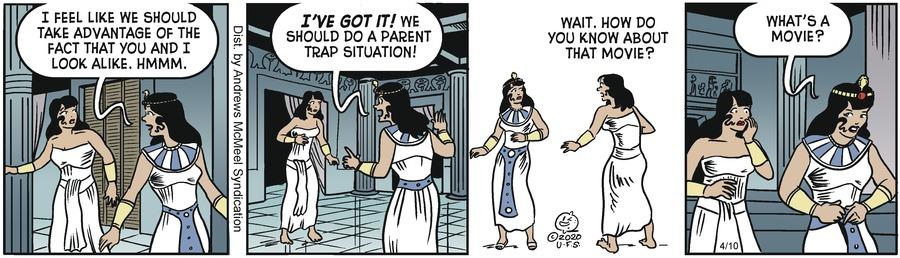 Alley Oop Comic Strip for April 10, 2020