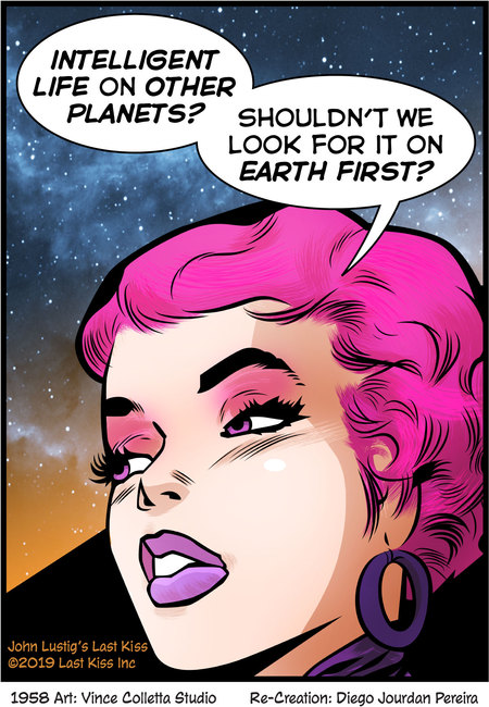 Last Kiss Comic Strip for February 26, 2020