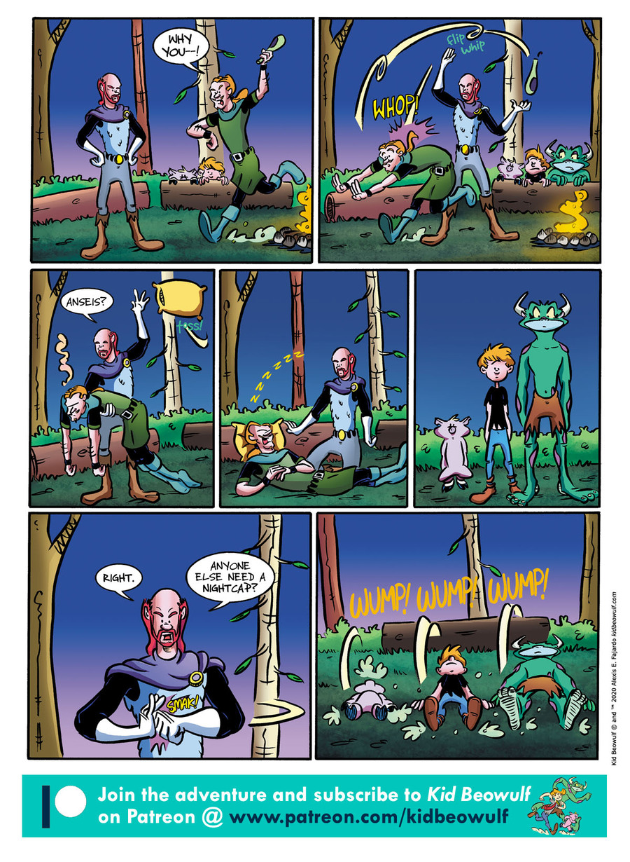Kid Beowulf Comic Strip for February 17, 2021