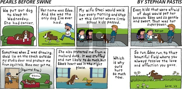 Pearls Before Swine on Sunday December 9, 2018 Comic Strip