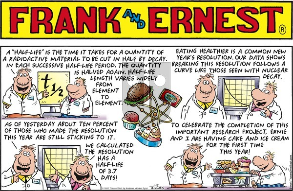 Frank and Ernest on Sunday January 12, 2020 Comic Strip