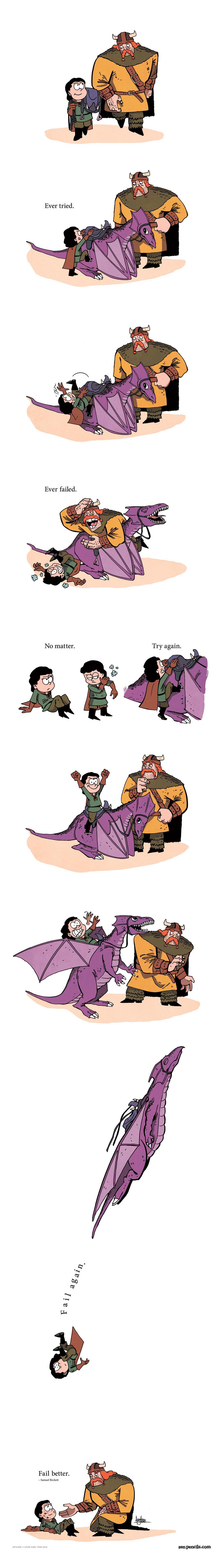Zen Pencils Comic Strip for April 16, 2018