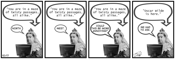 New Adventures of Queen Victoria Comic Strip for November 19, 2019