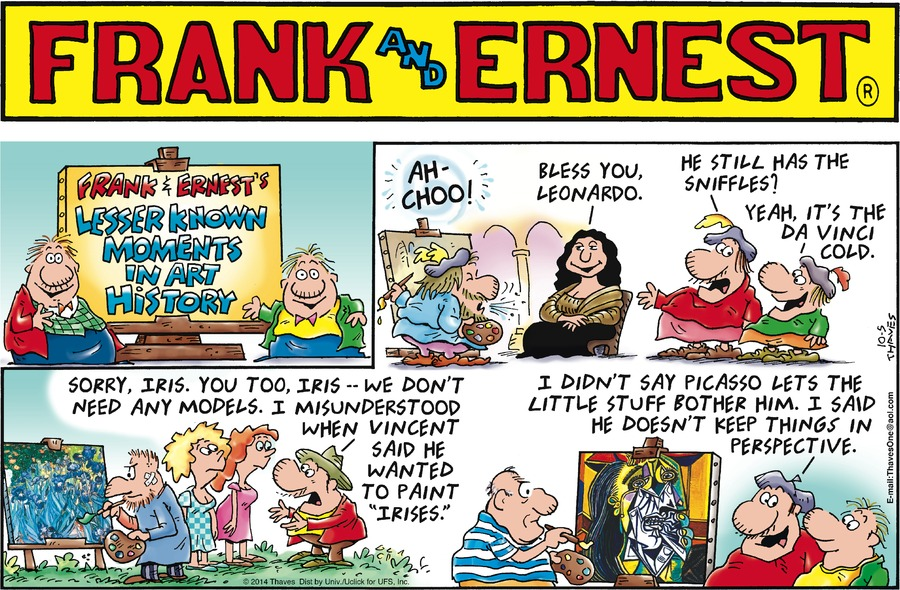 Frank and Ernest Comic Strip for October 05, 2014