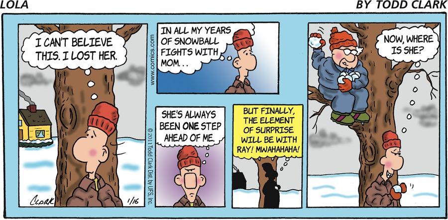 Lola Comic Strip for January 16, 2011