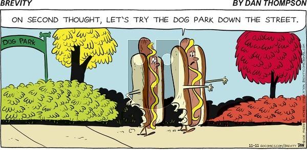 Brevity on November 11, 2018 Comic Strip