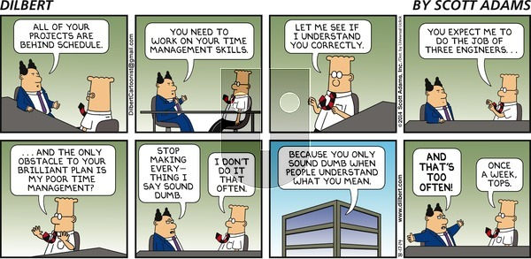 Dilbert - Sunday August 17, 2014 Comic Strip