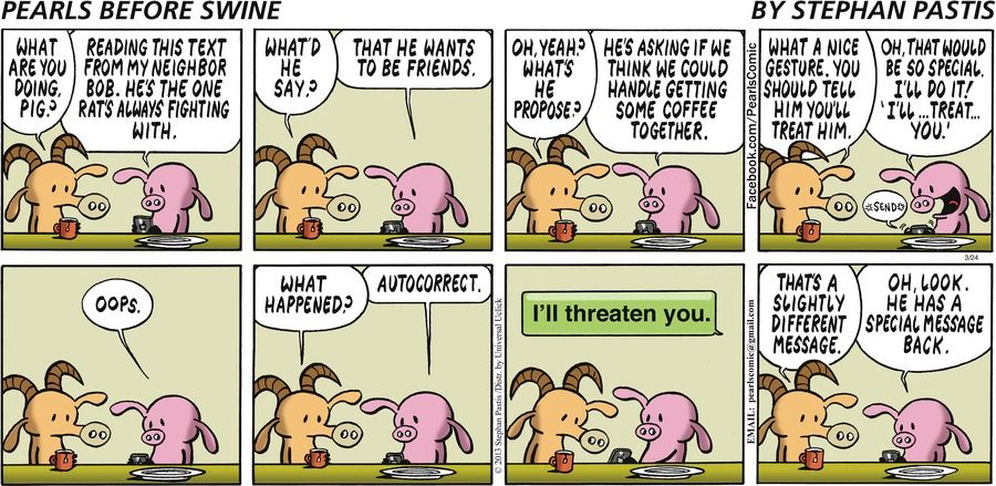 Pearls Before Swine for Mar 24, 2013 Comic Strip