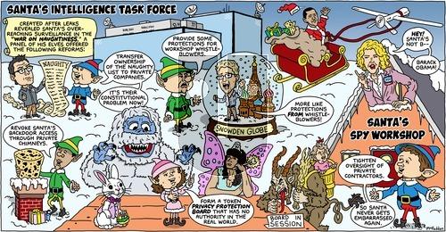 Brian McFadden - Sunday December 22, 2013 Comic Strip