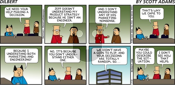 Dilbert on Sunday June 14, 2020 Comic Strip