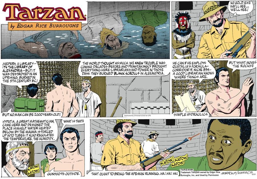 Tarzan Comic Strip for May 31, 2015