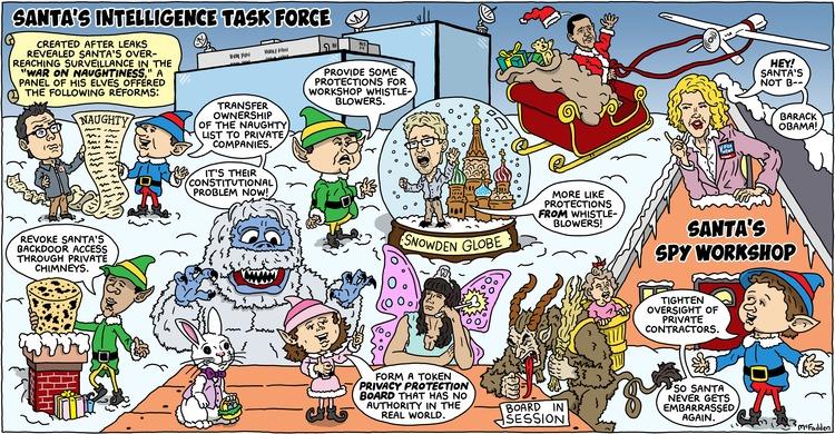 Brian McFadden Comic Strip for December 22, 2013
