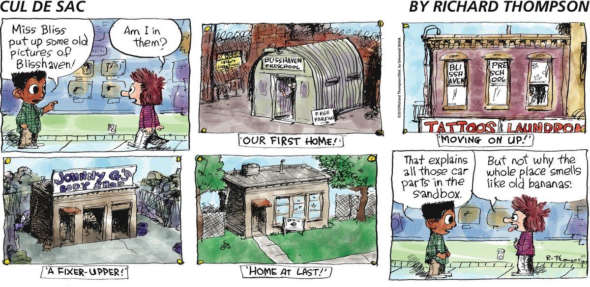 Cul de Sac Comic Strip for June 03, 2012