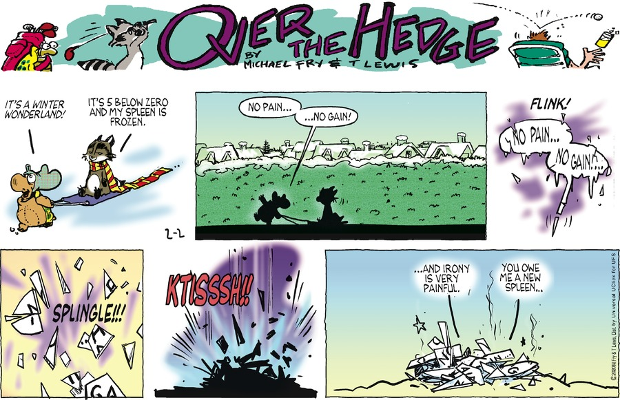 Over the Hedge Comic Strip for February 02, 2020
