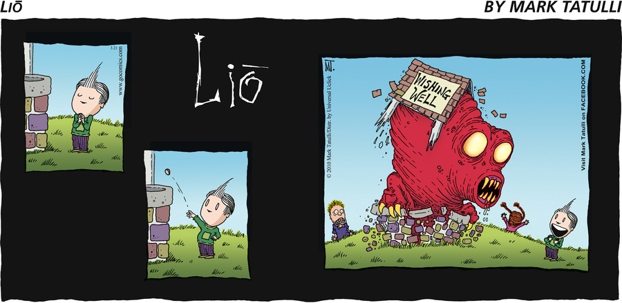 Lio for Mar 21, 2010 Comic Strip