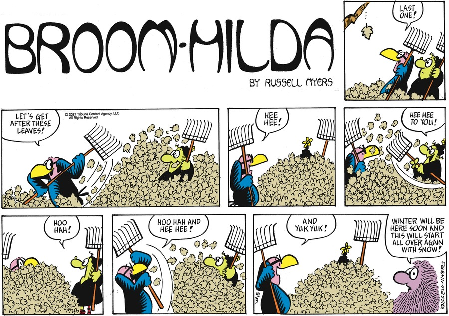 Broom Hilda by Russell Myers on Sun, 03 Oct 2021
