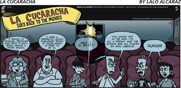 La Cucaracha - Sunday July 18, 2021 Comic Strip