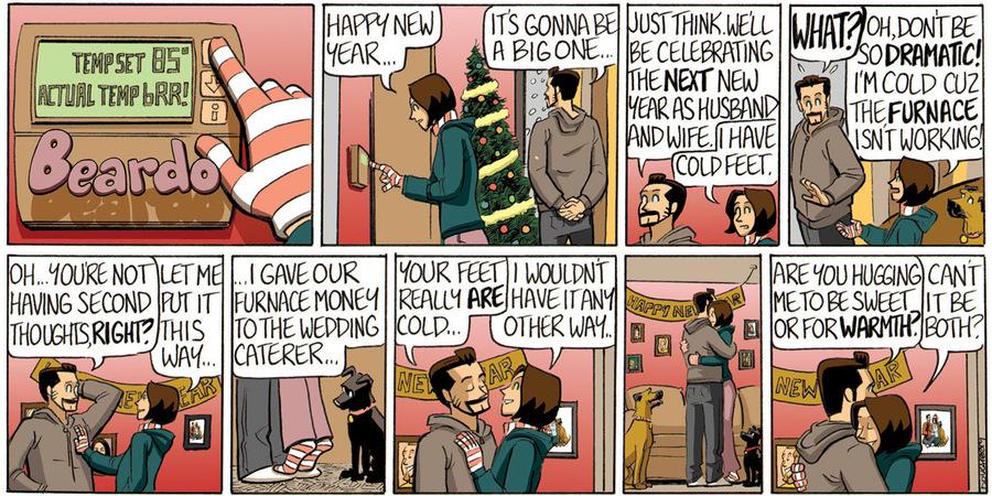 Beardo for Jan 1, 2013 Comic Strip