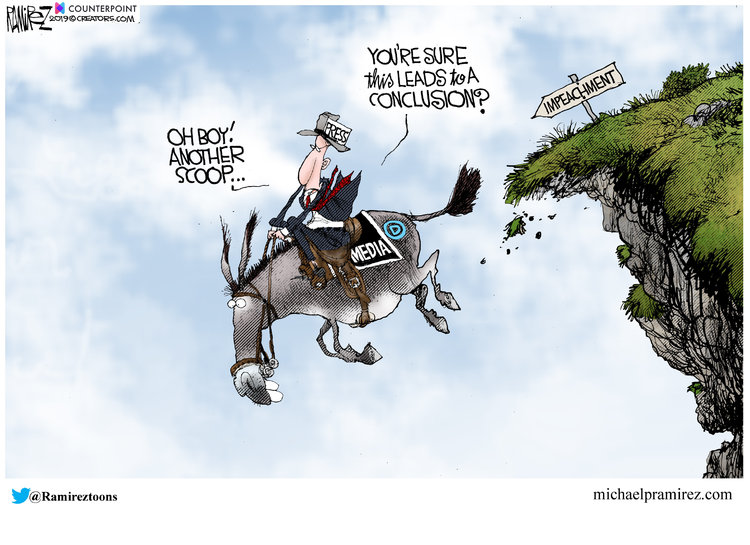 Michael Ramirez Comic Strip for September 27, 2019
