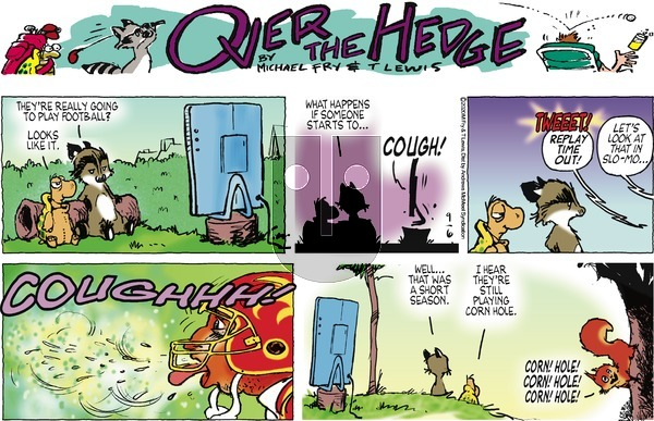 Over the Hedge on Sunday September 6, 2020 Comic Strip