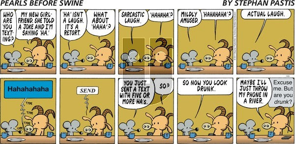 Pearls Before Swine on Sunday July 23, 2017 Comic Strip