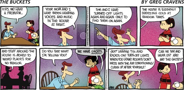 The Buckets on Sunday May 6, 2018 Comic Strip
