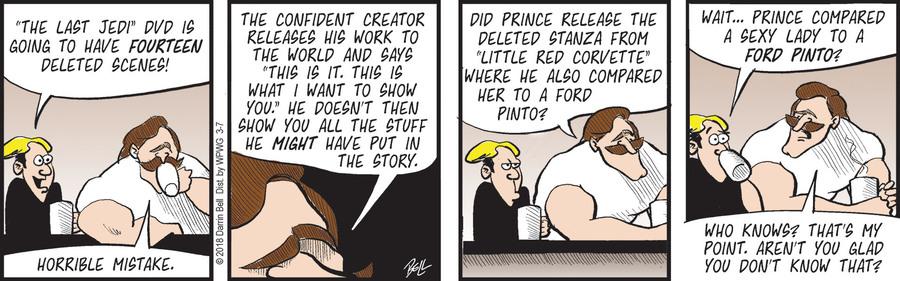 Rudy Park for Mar 7, 2018 Comic Strip