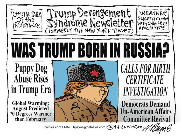 Henry Payne Comic Strip for March 12, 2017