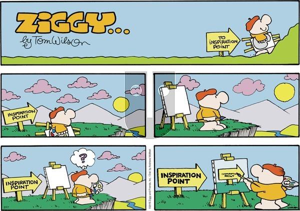 Ziggy on Sunday February 17, 2019 Comic Strip