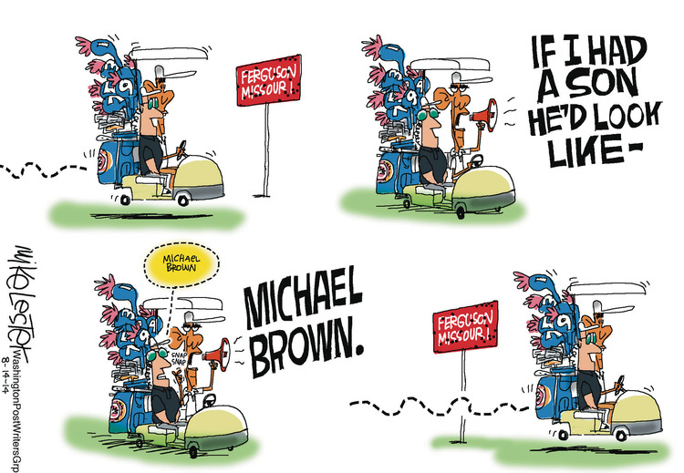 Mike Lester for Aug 14, 2014 Comic Strip