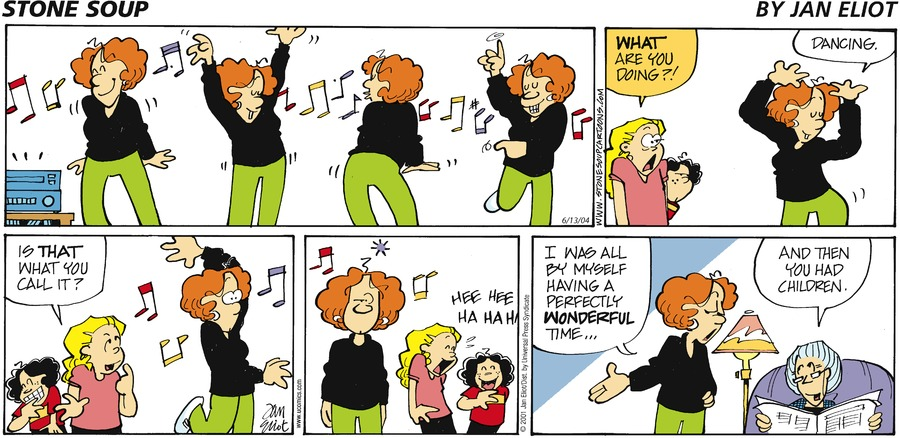 Stone Soup for Jun 13, 2004 Comic Strip