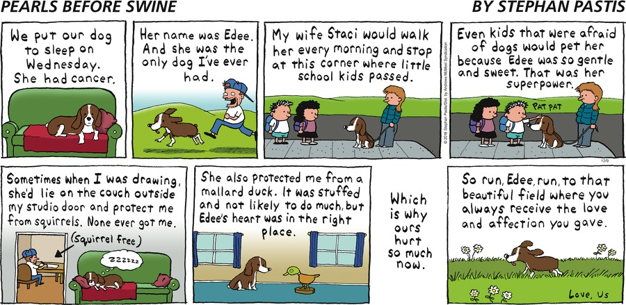 Pearls Before Swine by Stephan Pastis for December 09, 2018