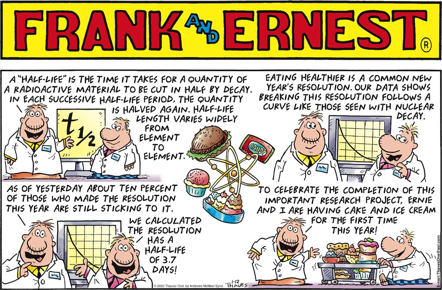 Frank and Ernest Comic Strip for January 12, 2020