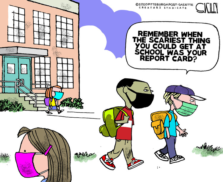 Steve Kelley Comic Strip for August 16, 2020