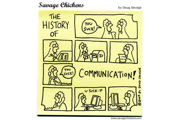 The History of Communication! 