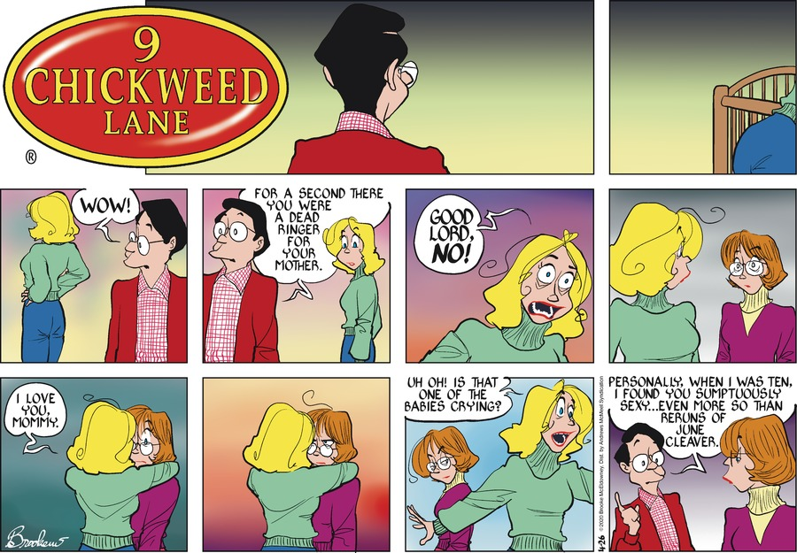 9 Chickweed Lane Comic Strip for April 26, 2020