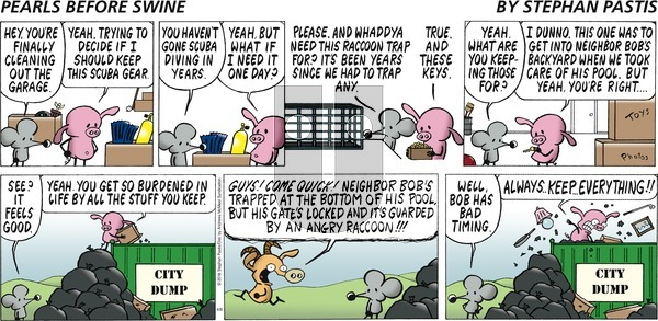 Pearls Before Swine on Sunday April 8, 2018 Comic Strip