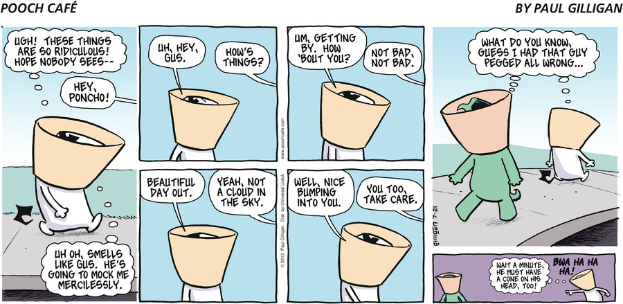 Pooch Cafe Comic Strip for July 21, 2013