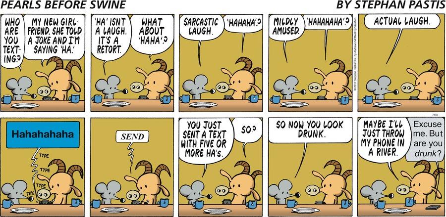 Pearls Before Swine for Jul 23, 2017 Comic Strip