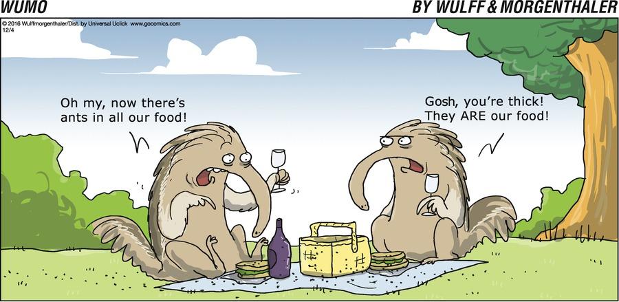WuMo for Dec 4, 2016 Comic Strip