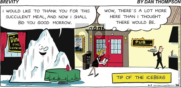 Brevity on Sunday April 7, 2019 Comic Strip